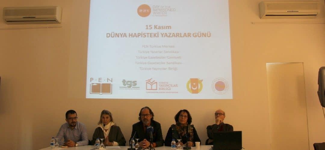 15 Kasım Hapisteki Yazarlar Günü'nde Ortak Çağrı: Yazarları Serbest ve Özgür Bırakın