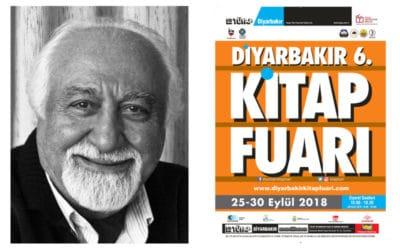 TÜYAP Diyarbakır 6. Kitap Fuarı Onur Konuğu Mıgırdiç Margosyan