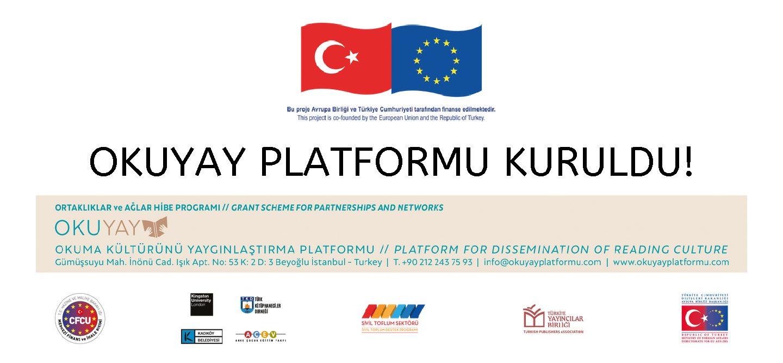Türkiye Yayıncılar Birliği Türkiye'de Okuma Kültürünü Yaygınlaştırmak İçin Yola Çıktı: OKUYAY PLATFORMU KURULDU!
