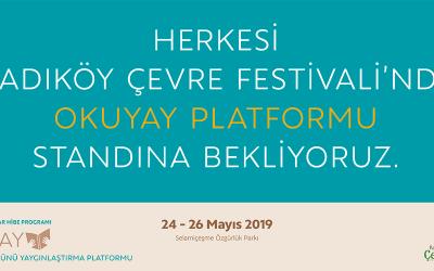 OKUYAY Platformu Kadıköy Çevre Festivali'nde!