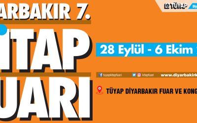 Diyarbakır 7. Kitap Fuarı 28 Eylül'de Kapılarını Açıyor