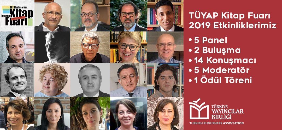 Türkiye Yayıncılar Birliği 38. İstanbul Kitap Fuarı Etkinlik Programı Açıklandı!