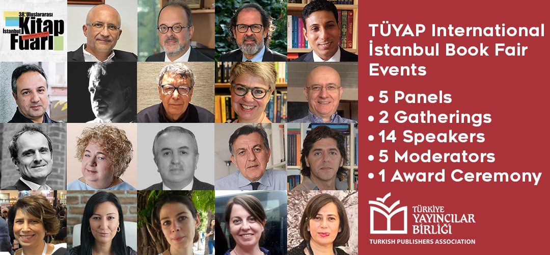 Turkish Publishers Association Event Schedule at the 38th International Istanbul Book Fair